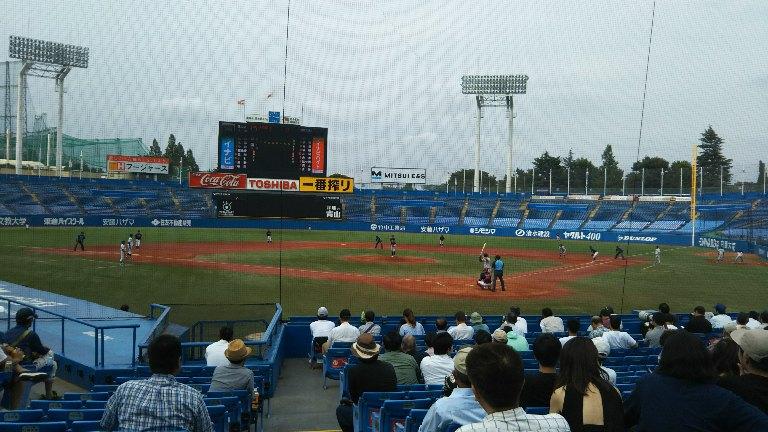 大学野球ネット裏.JPG